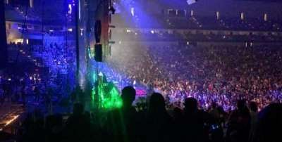 Dickies Arena, section: 127, row: 18, seat: 12