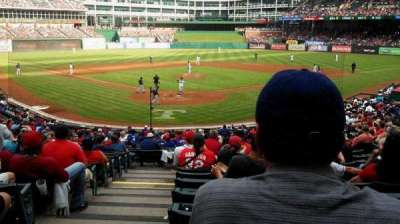 Globe Life Park in Arlington section 27