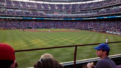 Globe Life Park in Arlington section 3
