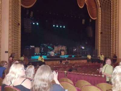 Pabst Theater, section: LT, row: P, seat: 7