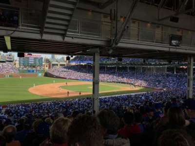 Wrigley Field, section: 208, row: 19, seat: 10
