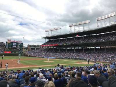 Wrigley Field, section: 111, row: 9, seat: 4