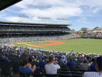 Wrigley Field, section: 239, row: 13, seat: 4