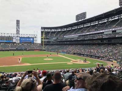 Guaranteed Rate Field, section: 140, row: 32, seat: 2