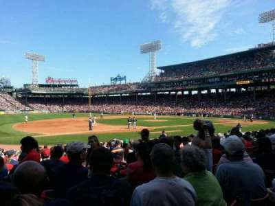Fenway Park section Loge Box 155