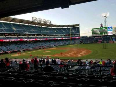 Angel Stadium, section: T225, row: F, seat: 9