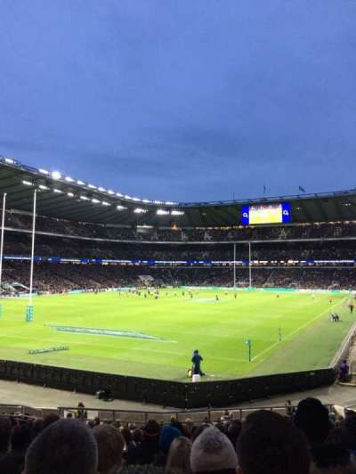 Twickenham Stadium, section: L31, row: 23, seat: 62