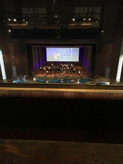 The Mann, section: Balcony Center, row: A, seat: 121