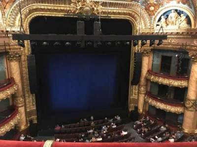Emerson Colonial Theatre, section: Balcony, row: B, seat: 113