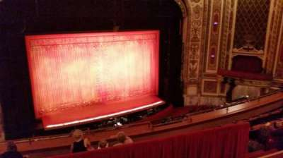 Cadillac Palace Theater section Balcony LC