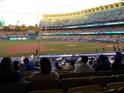 Dodger Stadium section 25FD