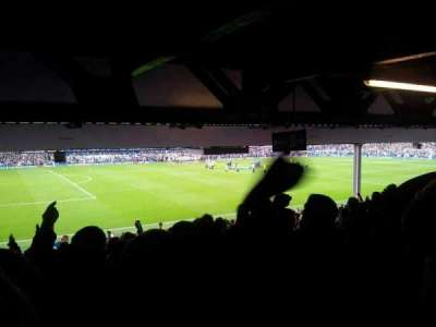 Goodison Park, section: Lower Visitors, row: Q, seat: 56