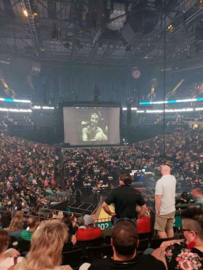 Spectrum Center, section: 102, row: Y, seat: 4