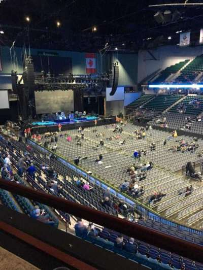 I Wireless Center, section: 205, row: 1