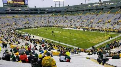 Lambeau Field, section: 132, row: 57, seat: 17