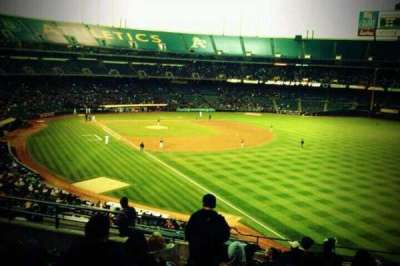 Oakland Alameda Coliseum, section: 204, row: 12, seat: 15