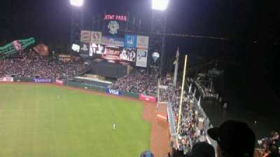AT&T Park, section: 304, row: 13, seat: 19