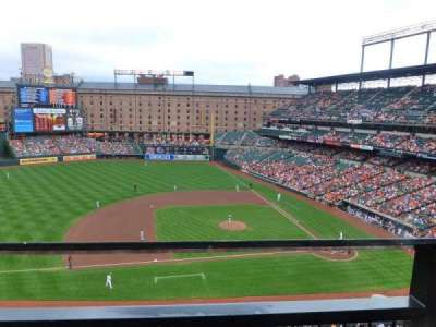 Oriole Park at Camden Yards section 354