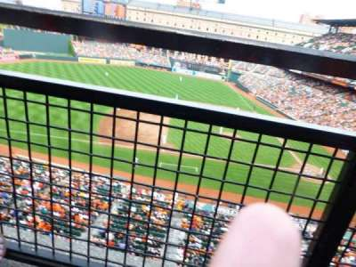 Oriole Park at Camden Yards, section: 354, row: 1, seat: 1