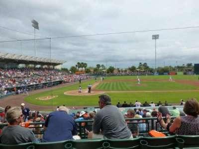 Ed Smith Stadium, section: 210, row: 4, seat: 14