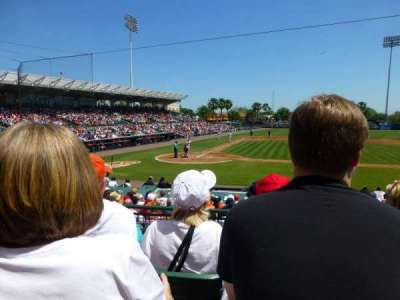Ed Smith Stadium, section: 210, row: 4, seat: 3