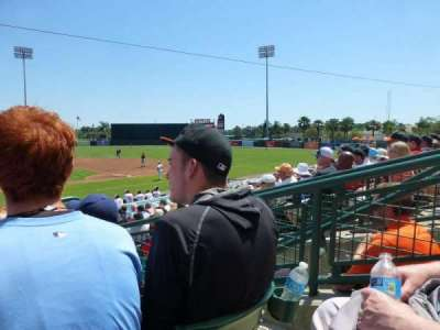 Ed Smith Stadium, section: 210, row: 4, seat: 3