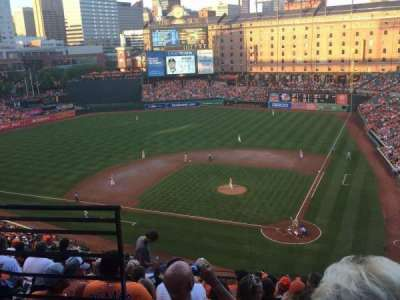 Oriole Park at Camden Yards section 344
