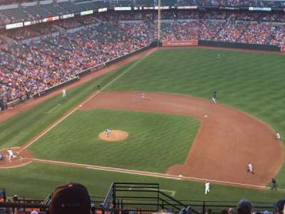 Oriole Park at Camden Yards section 318