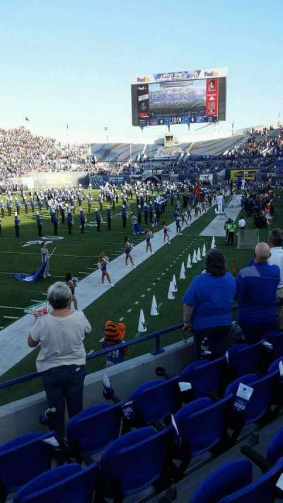 Liberty Bowl Memorial Stadium, section: 109, row: 16, seat: 11