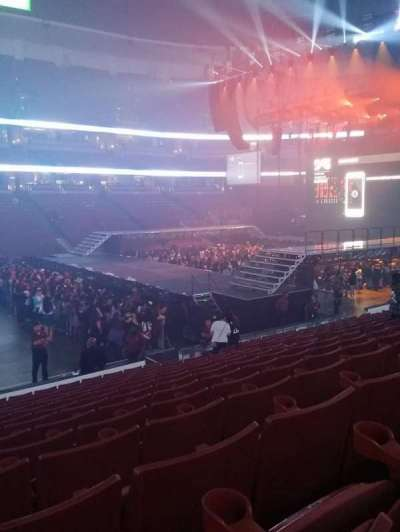 Honda Center, section: 223, row: P, seat: 13