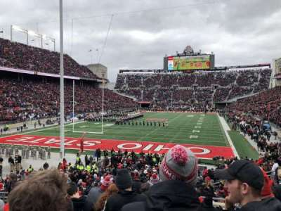 Ohio Stadium, section: 5A, row: 11, seat: 7