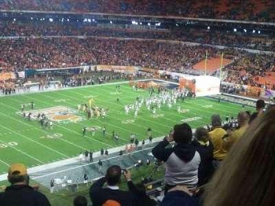 Hard Rock Stadium section 418