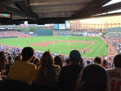 Oriole Park at Camden Yards, section: 43, row: 12, seat: 3