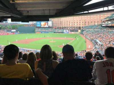 Oriole Park at Camden Yards section 43