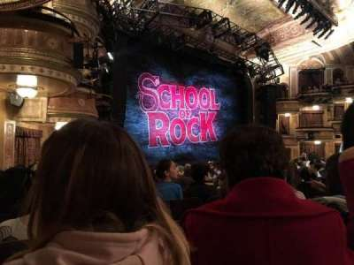 Winter Garden Theatre, section: ORCHO, row: P, seat: 33