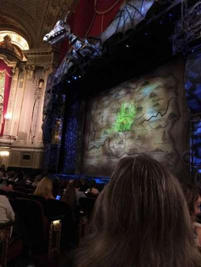 Boston Opera House, section: RORCLV, row: F, seat: 34
