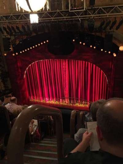 Shubert Theatre, section: BALC, row: E, seat: 2