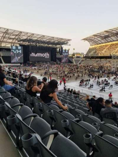 Banc of California Stadium section 128