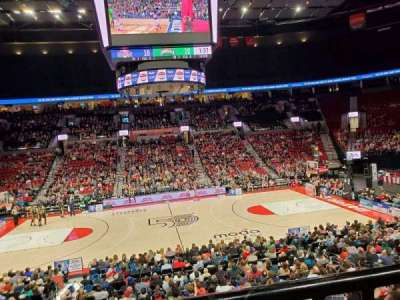 Moda Center, section: 112WC, row: R, seat: 10