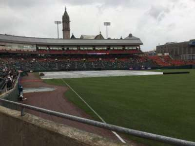 Coca-Cola Field, section: 128, row: K, seat: 1