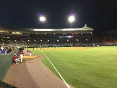 Coca-Cola Field, section: 128, row: K, seat: 3