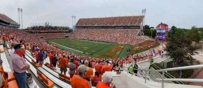 Memorial Stadium, Clemson section UA