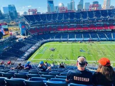 Nissan Stadium, section: 313, row: FF, seat: 3