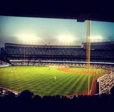 Dodger Stadium section 167LG