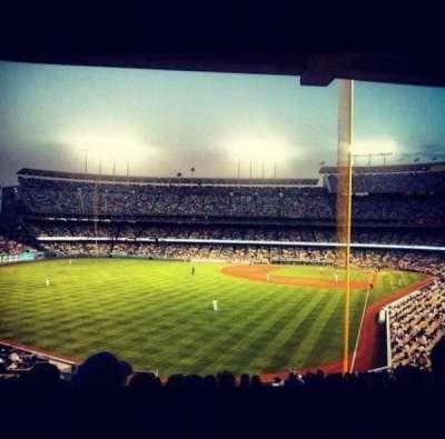 Dodger Stadium section 167LG