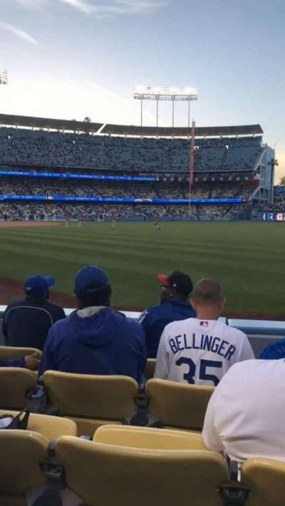Dodger Stadium, section: 48FD, row: D, seat: 7
