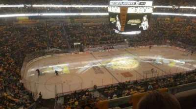 PPG Paints Arena, section: 222, row: B, seat: 8