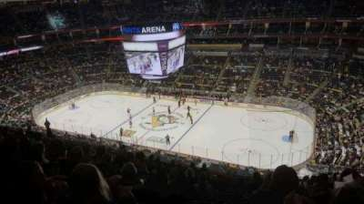 PPG Paints Arena, section: 217, row: M, seat: 8