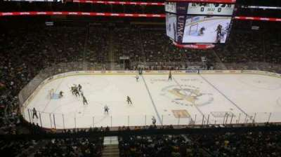 PPG Paints Arena, section: 221, row: A, seat: 13