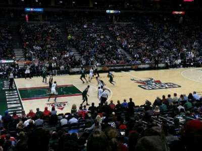 BMO Harris Bradley Center section 216